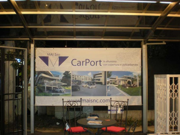 Novità CarPort in alluminio
