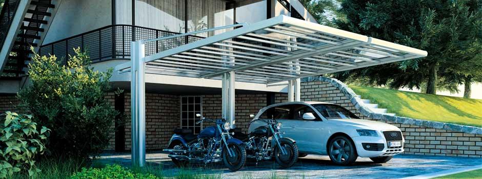 Novità: CarPort in Alluminio e Policarbonato